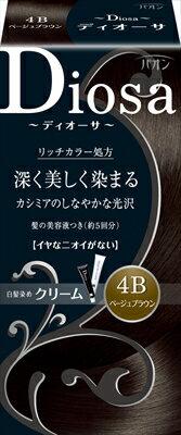 【送料無料】パオン ディオーサ クリーム 4B 1個【 シュワルツコフヘンケル 】 【 ヘアカラー・白髪用 】日用品 化粧品毛染め