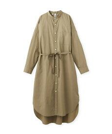 DRESSTERIOR(Ladies)(ドレステリア(レディース))【WEB限定】Traditional Weatherwear(トラディショナル ウェザーウェア)コットンスタンドカラーシャツワンピース