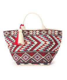 THE SHOP TK(Women)(ザ ショップ ティーケー(ウィメン))インド刺繍トートバッグ