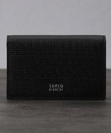 TAKEO KIKUCHI(タケオキクチ)◆ミニメッシュ名刺カードケース [ メンズ 名刺入れ 定番 ギフト プレゼント ]