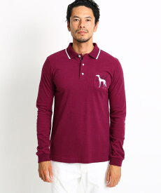 adabat(Men)(アダバット(メンズ))【吸湿発熱】胸ポケット付き長袖ポロシャツ