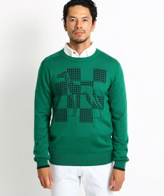 adabat(Men)(アダバット(メンズ))センターサルーキロゴセーター