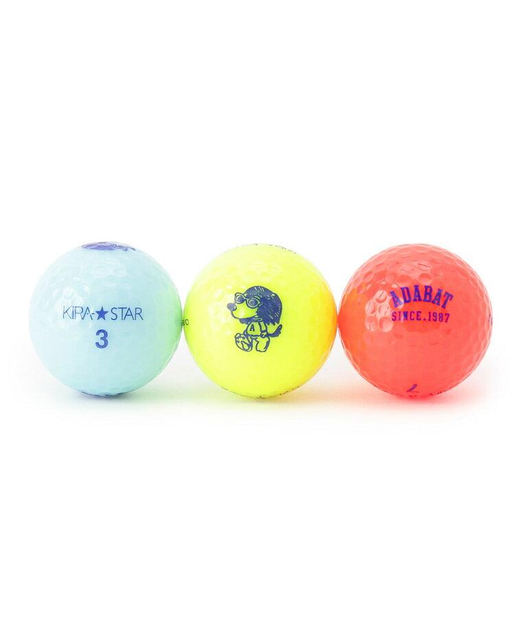adabat(Men)(アダバット(メンズ))【アシストくん】ゴルフボール(3個セット)