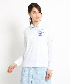 adabat(Ladies)(アダバット(レディース))【クールコア】【UVカット】長袖ポロシャツ レディース