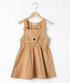 SHOO・LA・RUE/Kids(シューラルー /キッズ)【80-130cm】チノネコジャンパースカート