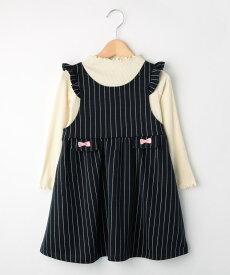SHOO・LA・RUE/Kids(シューラルー /キッズ)【80-130cm】ジャンスカドッキングワンピース