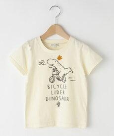 SHOO・LA・RUE/Kids(シューラルー /キッズ)【80-130cm】恐竜半袖Tシャツ
