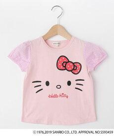 SHOO・LA・RUE/Kids(シューラルー /キッズ)【ハローキティ】袖布帛Tシャツ