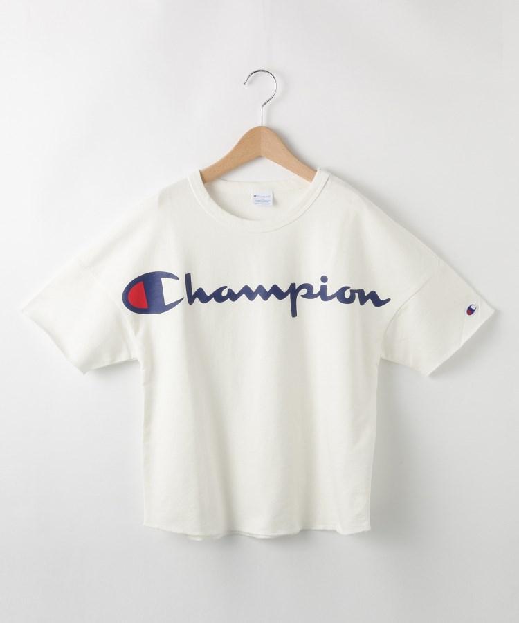 SHOO・LA・RUE/Kids(シューラルー /キッズ)【Champion】【150〜160cm】インレイ裏毛ワイドTシャツ