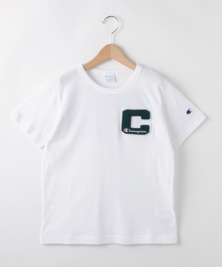 SHOO・LA・RUE/Kids(シューラルー /キッズ)【Champion】【150〜160cm】サガラ刺しゅうTシャツ