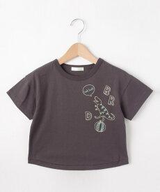 SHOO・LA・RUE/Kids(シューラルー /キッズ)【80〜130cm】恐竜ステッチTシャツ