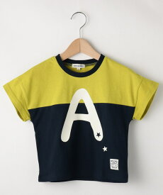 SHOO・LA・RUE/Kids(シューラルー /キッズ)切替ロゴTシャツ