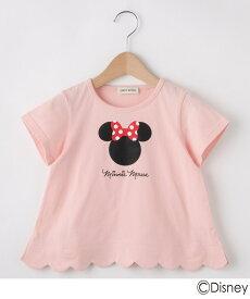 SHOO・LA・RUE/Kids(シューラルー /キッズ)【Disney】ミニーマウススデザイン カラップTシャツ