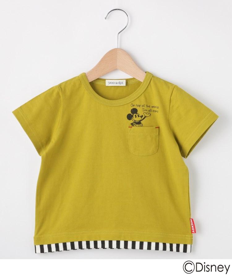 SHOO・LA・RUE/Kids(シューラルー /キッズ)【Disney】ミッキーマウスデザイン ポケットTシャツ