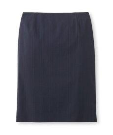 INDIVI V.A.I.(インディヴィ バイ)[S]シャドーストライプタイトスカート