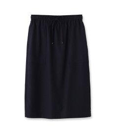 INDIVI(インディヴィ)コットンツイルタイトスカート