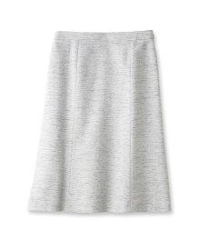 INDIVI(インディヴィ)「L」スラブツイードスカート