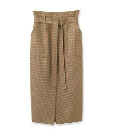 aquagirl(アクアガール)ガンクラブチェックロングタイトスカート