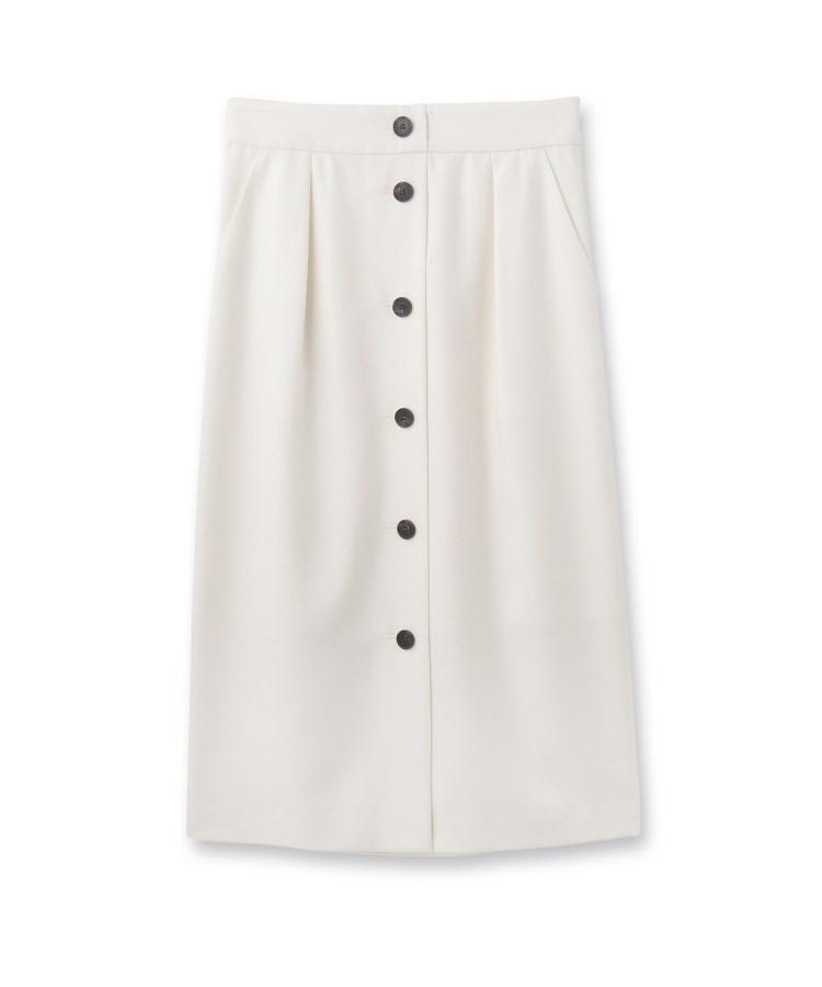 UNTITLED(アンタイトル)[L]フロントボタンナロースカート