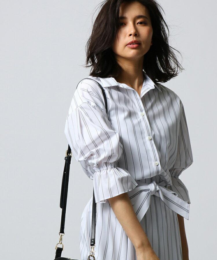 UNTITLED(アンタイトル)【洗える】[L]キャンディスリーブスキッパーシャツ