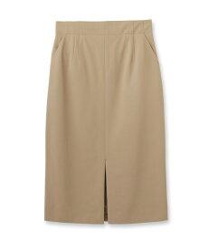 UNTITLED essential clue(アンタイトル エッセンシャルクルー)ストレッチナロースリットスカート