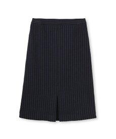 UNTITLED(アンタイトル)ストライプ柄ツイードスカート