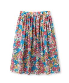 UNTITLED/FAIRY SHADE(フェアリーシェード)ブリリアントフラワープリント フレアスカート