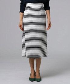 UNTITLED/FAIRY SHADE(フェアリーシェード)[L]グログランボーダースカート