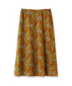 UNTITLED/FAIRY SHADE(フェアリーシェード)【洗える】ノスタルジックフラワープリントスカート