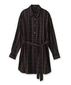 UNTITLED(アンタイトル)「L」【洗える】グリンフィルチェックCPOシャツ