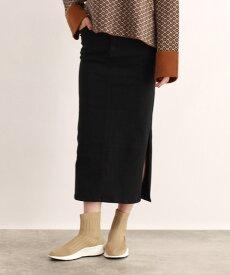 OZOC(オゾック)CIMARRON JEANS サイドスリットナロースカート