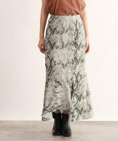 OZOC(オゾック)[洗える]Aラインマーメードマキシスカート