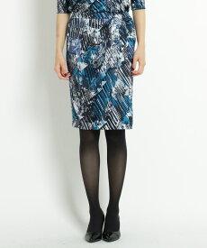 COUP DE CHANCE(クードシャンス)【洗える】ジャージタックタイトスカート