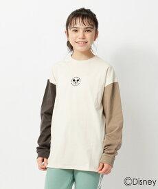 THE SHOP TK(Kids)(ザ ショップ ティーケー(キッズ))【150・160cm】【ディズニー】ミッキーマウス/TOY STORY/クレイジーパターンロングTシャツ
