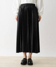 SHOO・LA・RUE/Cutie Blonde(シューラルー)【S-L】レザーフィールプリーツスカート