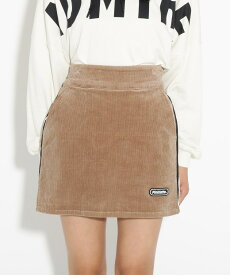 PINK-latte(ピンク ラテ)コーデュロイ台形 スカート