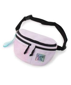 PINK-latte(ピンク ラテ)★ニコラ掲載★ハーフメッシュ ウエストポーチ
