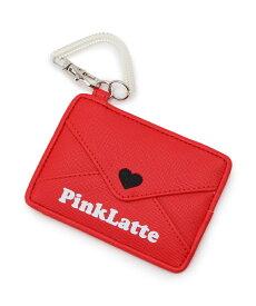 PINK-latte(ピンク ラテ)ラブレターパスケース