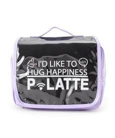 PINK-latte(ピンク ラテ)エナメルトラベルポーチ