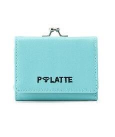 PINK-latte(ピンク ラテ)がま口三つ折り財布