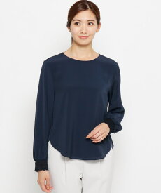 Modify(モディファイ)セミダルデシン袖口レースシャツ