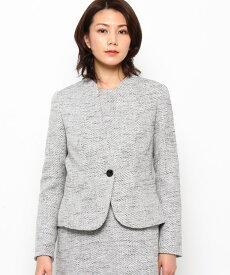 Modify(モディファイ)ミクシーツィードカラーレスジャケット
