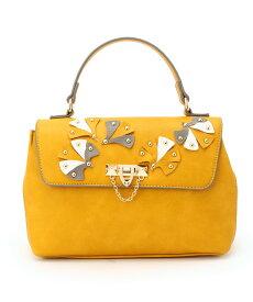 SunaUna(スーナウーナ)2WAYカシメフラワーハンドバッグ