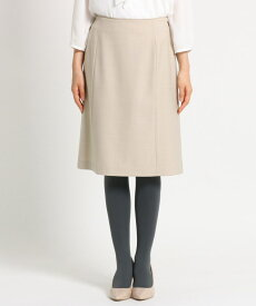 SunaUna(スーナウーナ)【洗える】ウール混ミドルタイトスカート