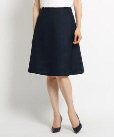 SunaUna(スーナウーナ)【洗える】ブッチャーAラインスカート