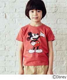 3can4on(Kids)(サンカンシオン(キッズ))(ディズニー)半袖Tシャツ
