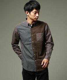 THE SHOP TK(Men)(ザ ショップ ティーケー(メンズ))クレイジーフランネルシャツ