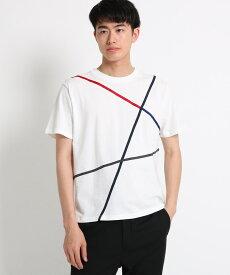 THE SHOP TK(Men)(ザ ショップ ティーケー(メンズ))ラインTシャツ