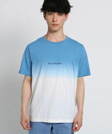 THE SHOP TK(Men)(ザ ショップ ティーケー(メンズ))段染めTシャツ