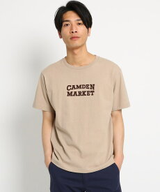 THE SHOP TK(Men)(ザ ショップ ティーケー(メンズ))ロゴプリント半袖Tシャツ